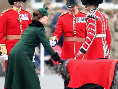 11 adorable photos of Kate Middleton showing off her baby bump at the traditional St. Patrick's Day celebration