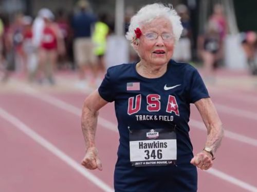 A 103-year-old woman who sets running records and looks for 'magic moments' shares 3 of her life tips, and they're right in line with what researchers say