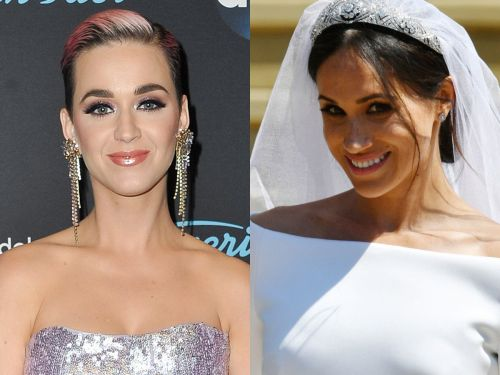 Katy Perry shades Meghan Markle's wedding dress: 'I would have done one more fitting'