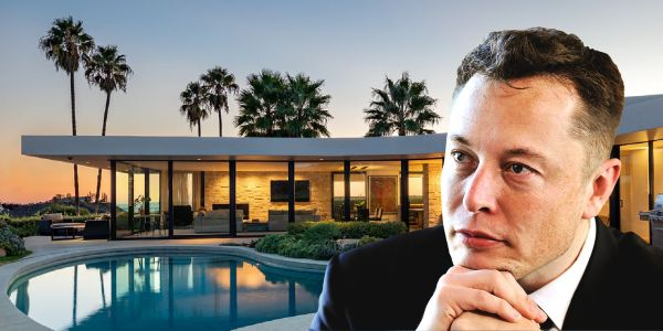 Elon Musk, who claims he's low on cash, recently sold his LA mansion for nearly $4 million - and that was just one of several properties he owns in the area. Take a look inside his real-estate portfolio