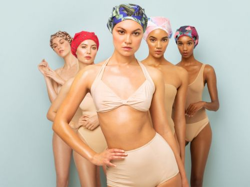 This is the only shower cap that's ever actually kept all of my hair dry - it's pricey at $43, but worth it