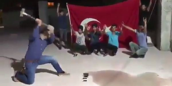 Turks smashed their iPhones in protest of US sanctions and their plummeting currency
