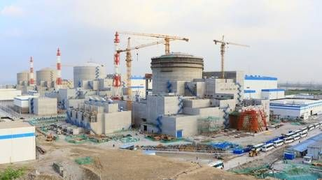 Russia & China sign agreement on construction of 2 power units at Tianwan nuclear power plant