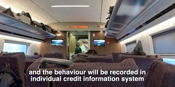 A creepy video shows how China warns its citizens to behave or get punished by its nationwide social credit system