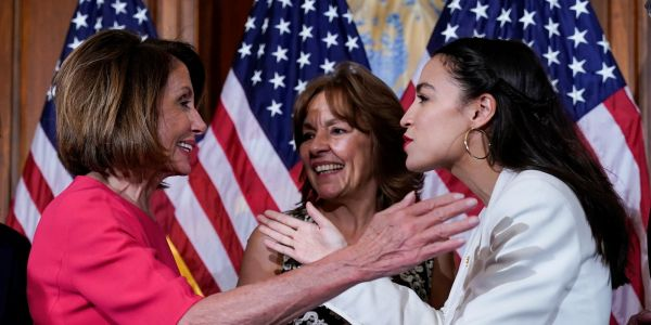 Weeks of Democratic infighting between Nancy Pelosi and 'the Squad' preceded Trump's racist tweet attacks