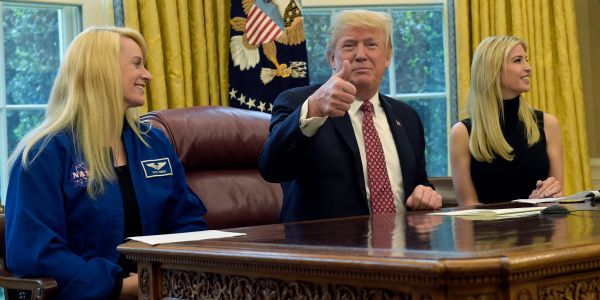 Trump reportedly offered NASA 'all the money you could ever need' to land on Mars during his presidency
