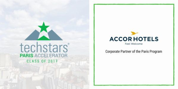 Announcing AccorHotels as Corporate Partner of the Techstars Paris Accelerator Program