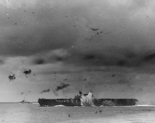 Intense photos show the USS Enterprise, the decorated WWII aircraft carrier that the Japanese just couldn't sink