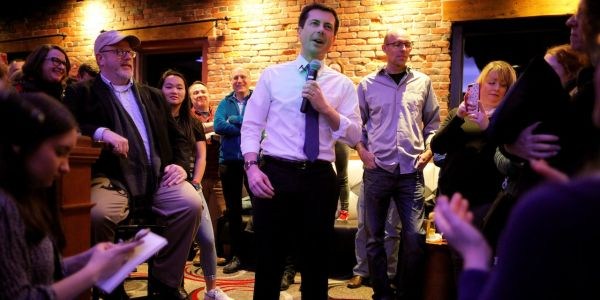 Pete Buttigieg says 'disruption' of blue-collar industries has helped fuel white nationalism