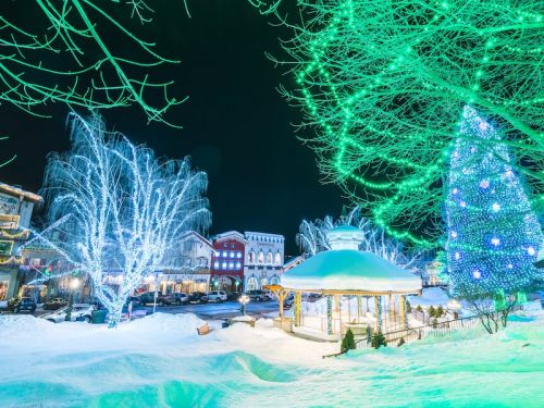 The most festive small towns in America