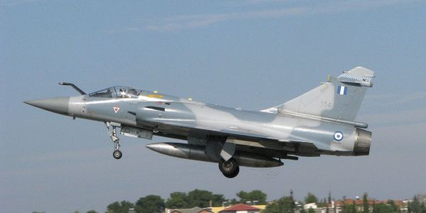 A Greek fighter jet reportedly went down after a dogfight with a Turkish jet