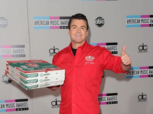 Papa John's controversial founder is being kicked out of the chain's office after saying the N-word during a conference call