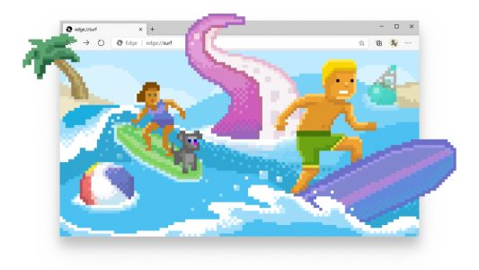 You can now surf in Microsoft's Edge browser