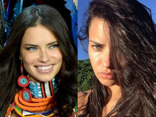 What 15 models look like without a lick of makeup