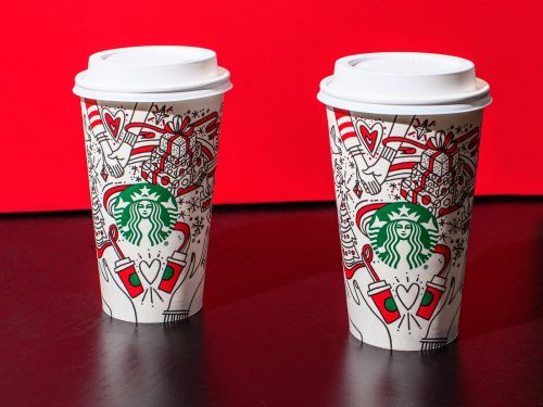 BuzzFeed posted a bizarre theory that Starbucks' holiday cups 'might have a gay agenda'