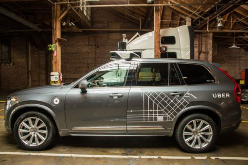Uber orders 24,000 Volvo XC90s for driverless fleet