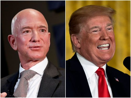 If President Trump intervenes in the $10 billion JEDI cloud contract, both Amazon and Microsoft could end up as losers
