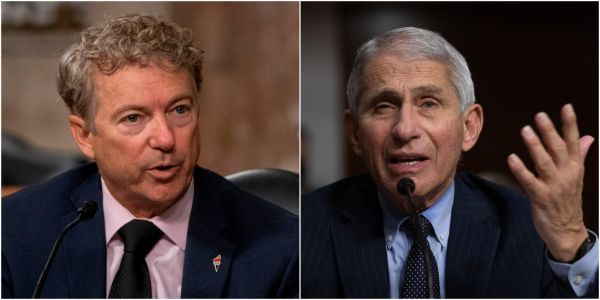'You are not listening': Fauci tells Rand Paul that he is 'alone' in vouching for herd immunity over coronavirus lockdowns