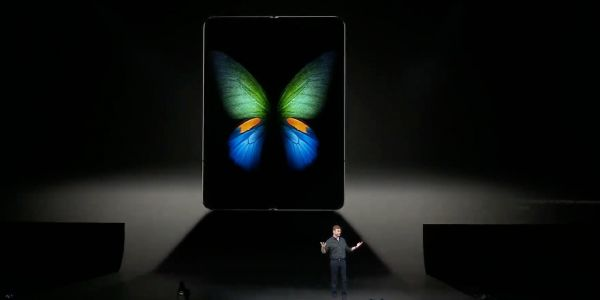 Samsung has finally showed off its new foldable smartphone, the Galaxy Fold