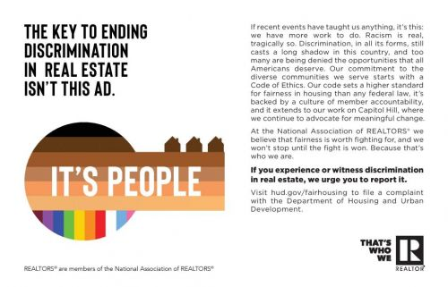 NAR 'Recommitted to the Fairness Fight' With New Fair Housing Ad Campaign