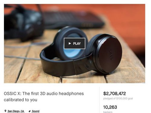 A company that raised over $5 million through crowdfunding has shut down, and nearly everyone who paid for its $200 headphones lost their money
