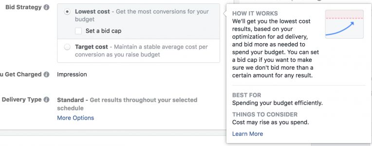 How to Set a Facebook Ad Bid Cap