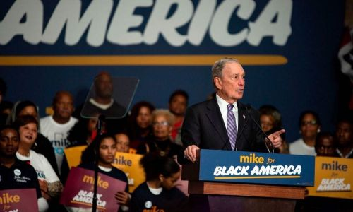 Michael Bloomberg hired ad agency Oberland and is trying to find black advertising pros to court black voters