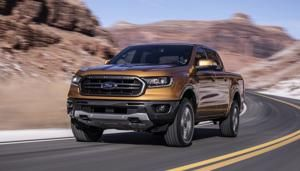 L.A. Auto Show 2018: Ford's Ranger returns to U.S. market after seven-year absence