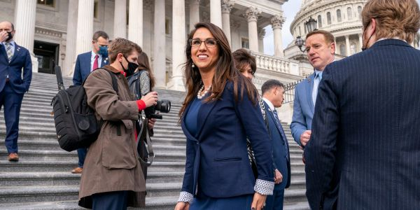 DC police will reach out to a GOP freshman congresswoman who released an ad in which she appeared to walk around the US Capitol with a handgun