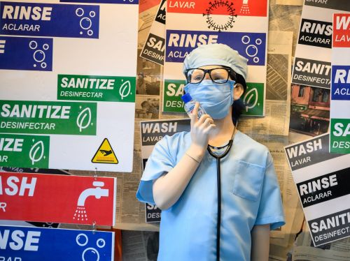 The CDC said the risk of getting COVID-19 from surfaces is 'low', suggesting deep clean protocols are overkill