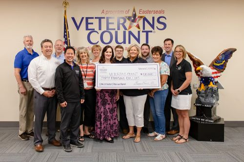 Berkshire Hathaway HomeServices Verani Realty Donates $60,000 to Veterans Count