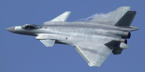 China's J-20 stealth fighter has no cannon - and it shows the jet can't dogfight with the US