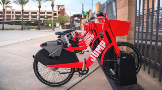 Uber's Jump e-bikes will have swappable batteries, phone mounts, and QR codes for unlocking