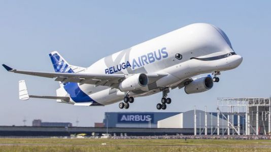 Whale Of A Plane: Airbus BelugaXL Makes Maiden Flight
