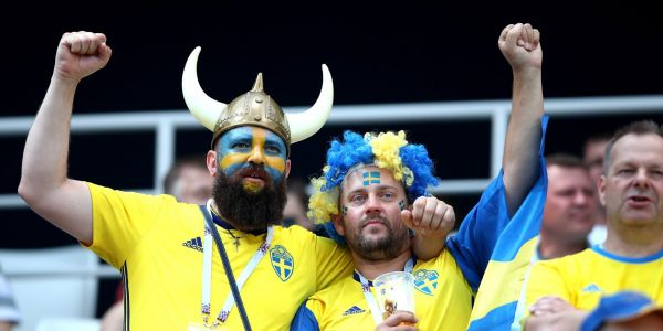 A Russian city reportedly ran out of beer due to Swedish fans celebrating their first World Cup win in 12 years