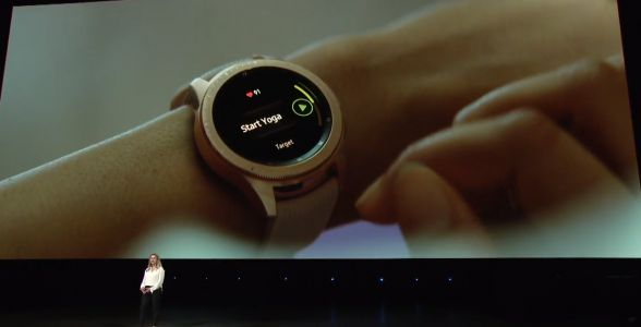 Samsung just unveiled a brand-new smartwatch called the Galaxy Watch