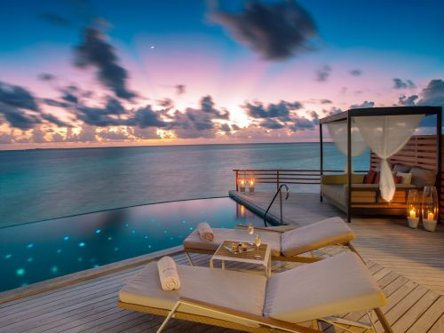 An ultra-luxe retreat in the Maldives has been named the world's most romantic resort 6 times - here's a look inside the secluded island