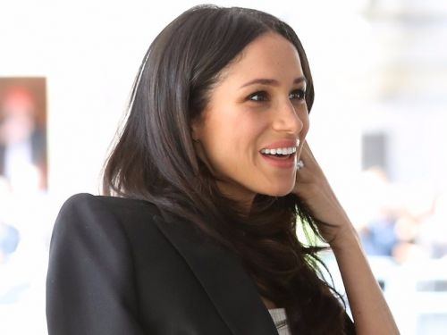 Meghan Markle just attended her most high-profile event yet - and her outfit is proof she won't give up her Hollywood style anytime soon