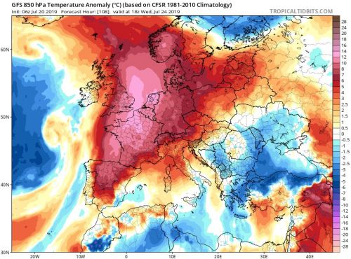 Europe is bracing for another blistering heat wave, less than a month after record-breaking temperatures scorched the continent