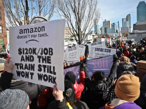 Here's how politicians and tech execs are reacting to the surprise news of Amazon pulling HQ2 from New York City