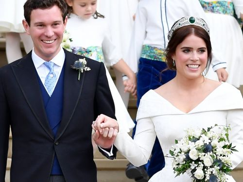 12 times Princess Charlotte and Prince George stole the show at Princess Eugenie's wedding
