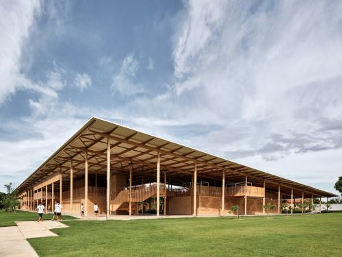 The world's best new building is a remote school in the Brazilian rainforest made out of wood and mud-brick