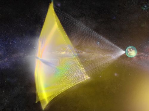 A startup is developing a 100-gigawatt laser to propel a probe to another star system. That may be powerful enough to 'ignite an entire city.'