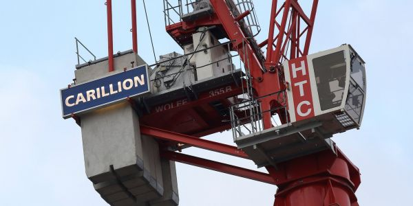 Crisis-hit construction firm Carillion goes into liquidation after government talks fail, putting thousands of jobs at risk