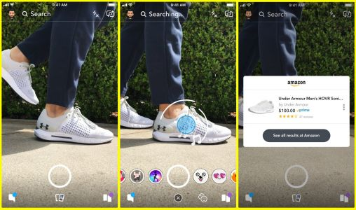 Snapchat's latest tool lets users point their cameras at products and buy them on Amazon