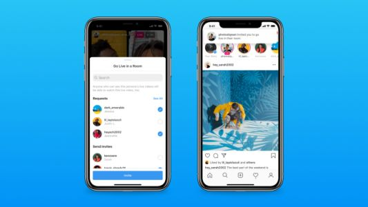 Instagram launches 'Live Rooms' for live broadcasts with up to four creators