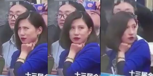 China banned all mention of a sassy, eye-rolling reporter after she became a meme