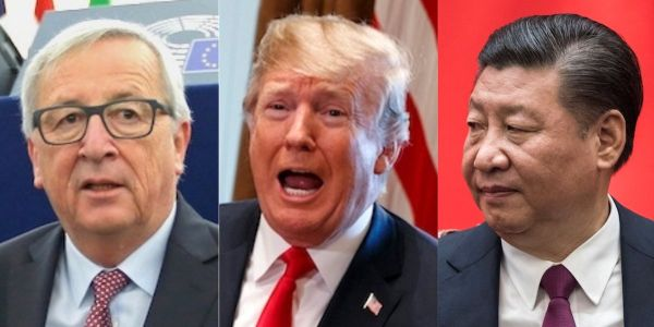 China and the EU are teaming up to fight back against Trump's trade war