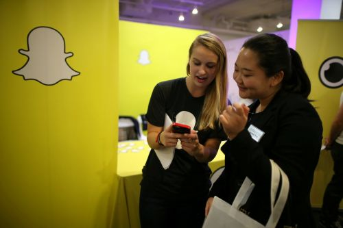 Snap is rallying after a report reveals it may be 'siphoning away' younger users from Facebook