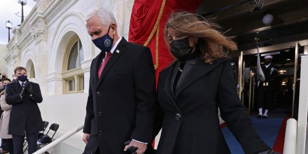Mike and Karen Pence bought a $1.9 million 7-bedroom home in a ritzy Indiana neighborhood
